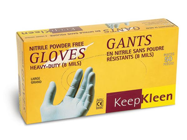 Superior, Keep Kleen®, Nitrile Gloves, Medium, 1000/case