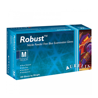 Supermax, Aurelia Robust, Nitrile gloves, Medium, 1000/case