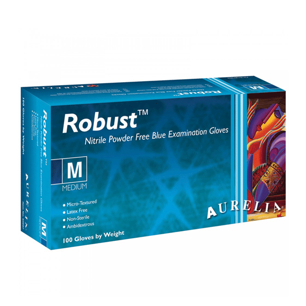 Supermax, Aurelia Robust, Nitrile gloves, Small, 1000/case