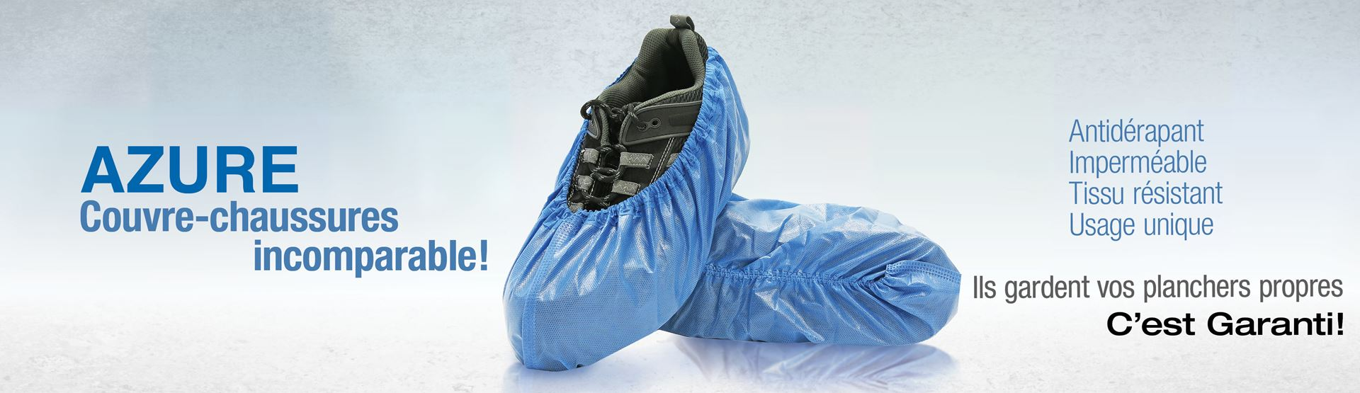 BlueMed, Azure Couvre-chaussures