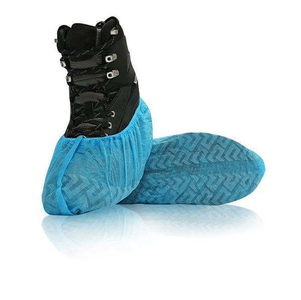 NWNS Shoe Covers for Dispenser, Blue, 600/case