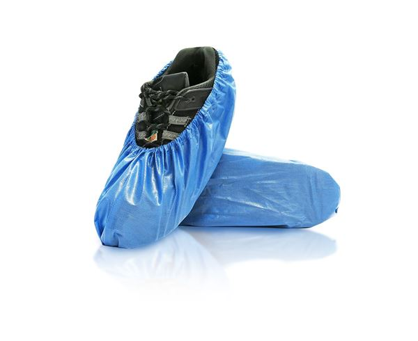 Azure Shoe Covers, Universal, Blue, in bags, 300/case