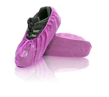 Lilly Shoe Covers, Universal, Purple, in bags, 300/case