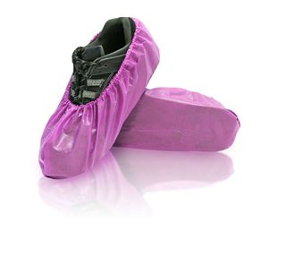 Lilly Shoe Covers, X-Large, Purple, in bags, 240/case