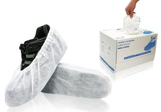 Cosmic Shoe Covers, Universal size, White, in dispenser boxes, 300/case