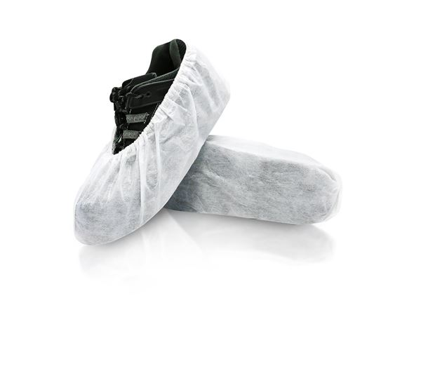 Cosmic Shoe Covers, X-Large, White, in bags, 240/case