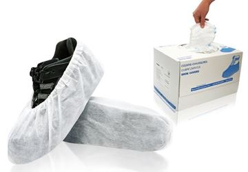 Cosmic Shoe Covers, X-Large, White, in dispenser boxes, 240/case