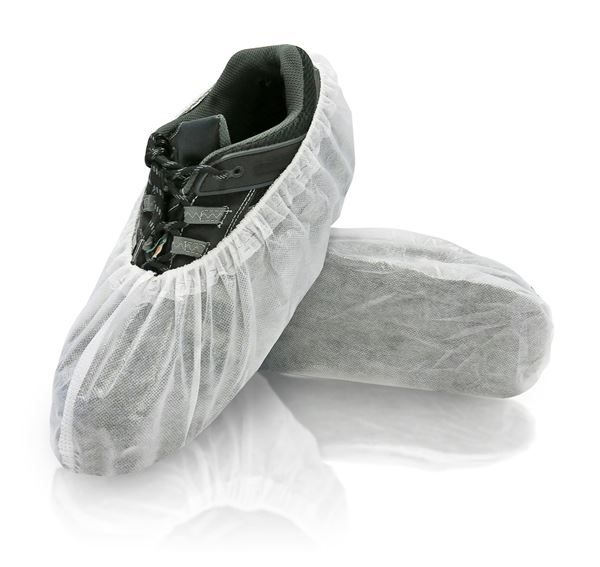 Fresh Shoe Covers, X-Large, White, in bags, 400/case