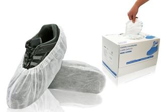 Fresh Shoe Covers, X-Large, White, in dispenser boxes, 400/case