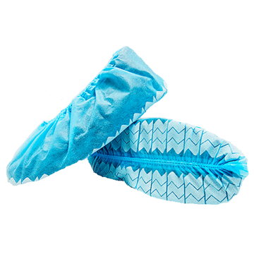 Wave Shoe Covers with Non-Skid Print
