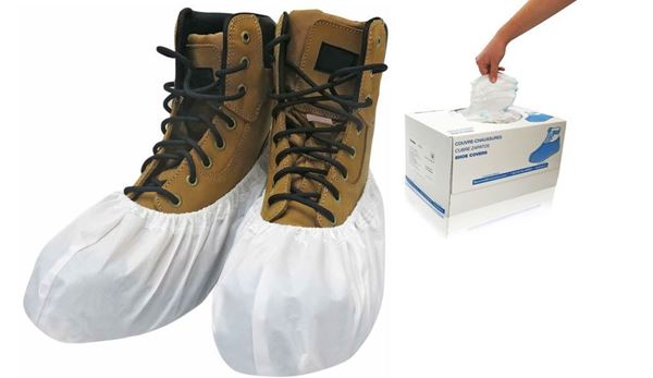 Cosmic Light Shoe Covers, X-Large, White, in dispenser boxes, 240/case