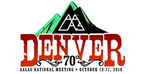 AALAS National Meeting, October 13-17, 2019, Denver, Colorado, US